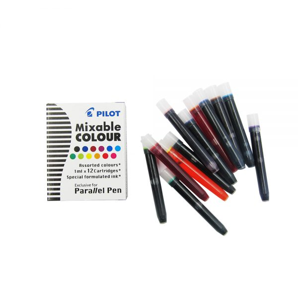 Pilot Mixable Color Ink Cartridge – Assorted
