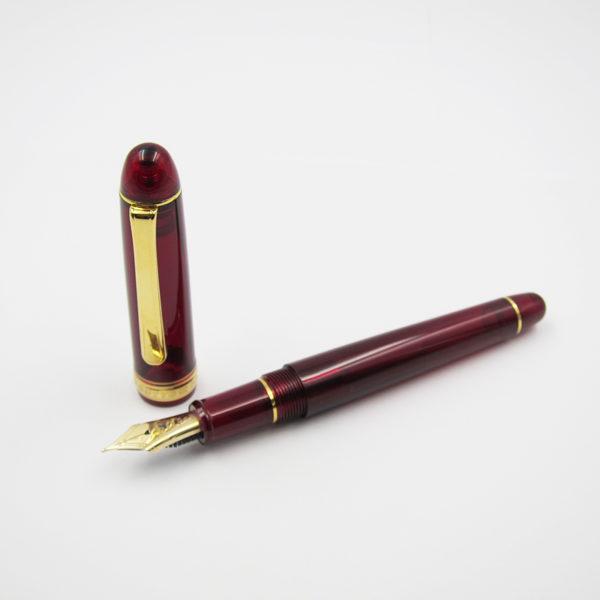 platinum-century-3776-series-burgundy-fountain-pen