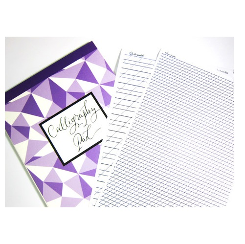 Craftdoodle Calligraphy Pad Half Letter Size